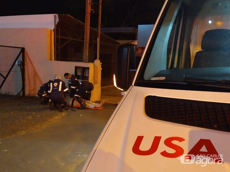 Após atropelar pedestre, motociclista foge sem prestar socorro - Crédito: Luciano Lopes