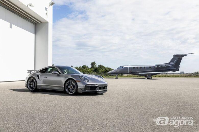 """Embraer e Porsche anunciam parceria para criar edição limitada """"Duet"""" - Crédito: Divulgação"""
