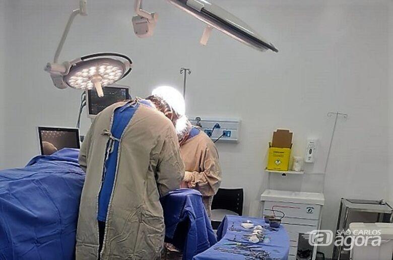 Hospital Universitário de São Carlos realizou primeira cirurgia nesta quarta-feira (18) - Crédito: Divulgação