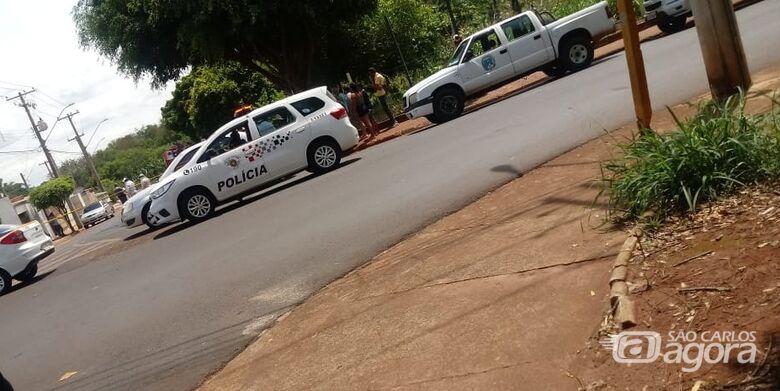Local onde ocorreu o triste fato - Crédito: Araraquara 24 Horas
