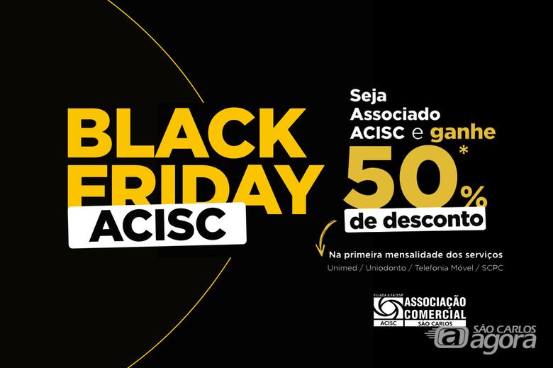 Black Friday ACISC 2020 tem descontos especiais em serviços -