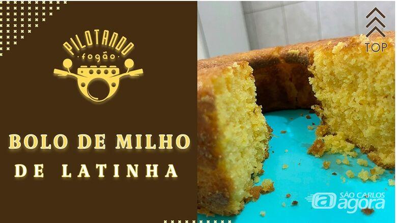 Vinicius Holmo ensina a fazer um delicioso bolo de milho de latinha -
