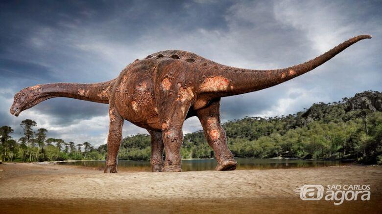 Parasitas foram identificados em ossos de saurópodes - Crédito: Divulgação