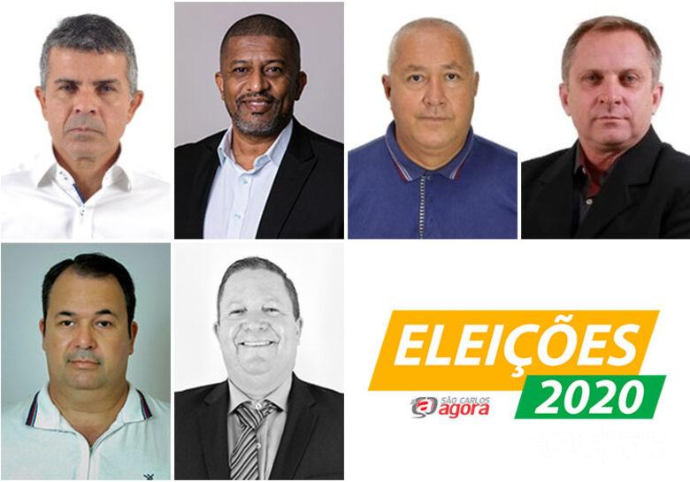 Na sequencia: Policial Cortez, Bombeiro Rodrigo, Oziel Bombeiro, tenente Fernandes, Marcio Neves e Roosevelt Soares - Crédito: Divulgação