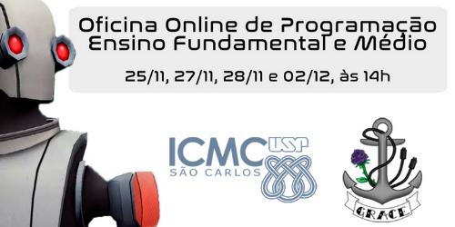 Oficina online na USP São Carlos: aprenda princípios de programação dentro de uma estação espacial - Crédito: Divulgação