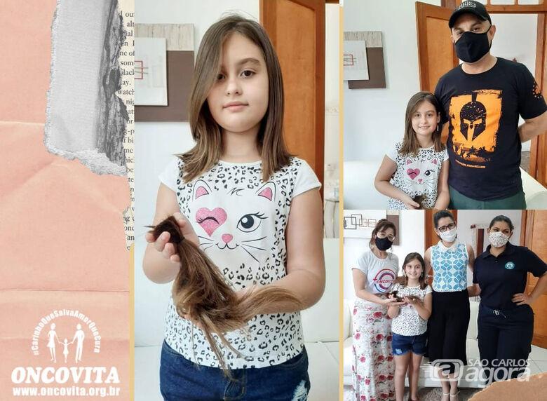 Projeto Madeixas Felizes irá ajudar mulheres portadoras de câncer - Crédito: Divulgação