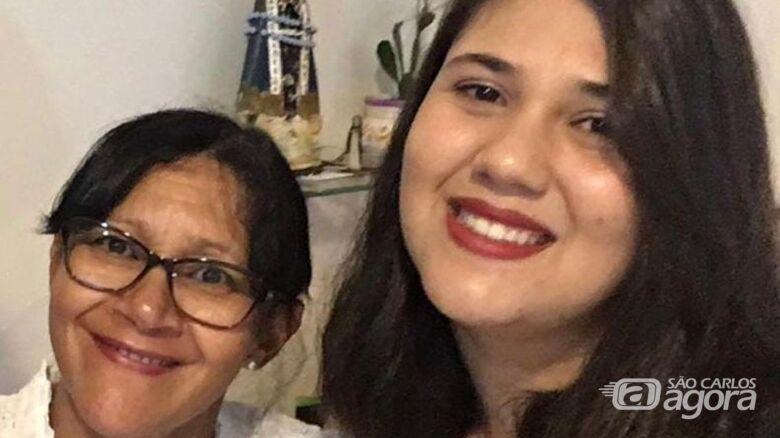 Mãe e filha morreram soterradas por muro que desabou - Crédito: Arquivo Pessoal