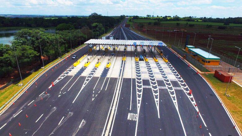 Pedágio entre São Carlos e Ribeirão Preto já opera com novos valores - Crédito: Divulgação