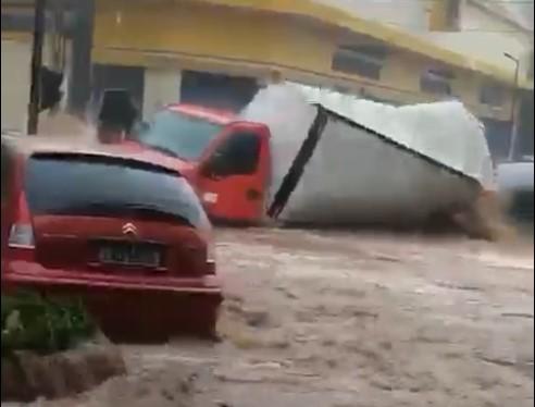 Com ajuda do SCA, caminhoneiro atingido pela enchente é localizado em São Carlos - Crédito: Divulgação