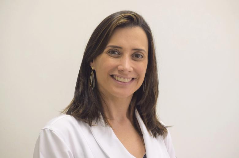 Endocrinologista Hellen Felício, coordenadora da medicina preventiva do Grupo São Francisco -