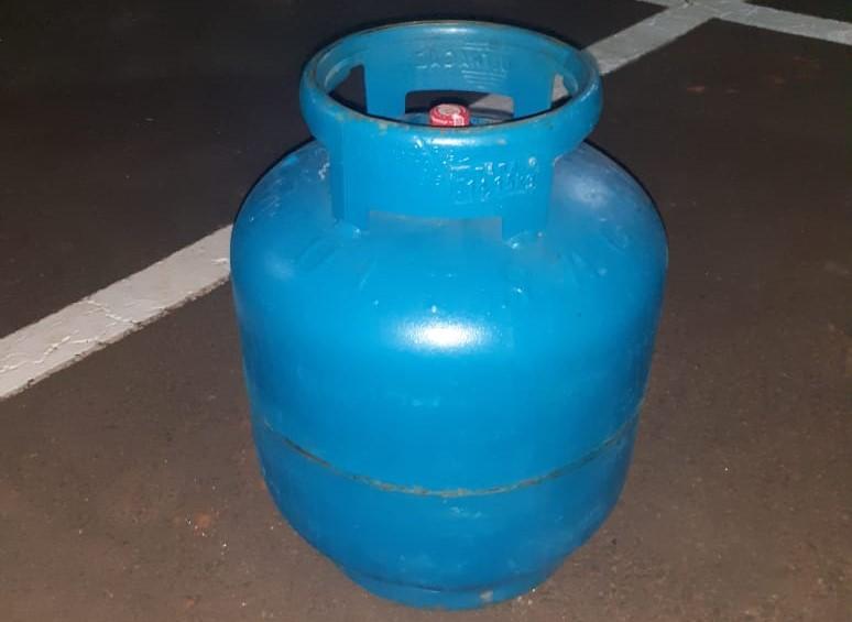 Acusado de furtar botijão de gás, ladrão é detido pela GM - Crédito: Divulgação