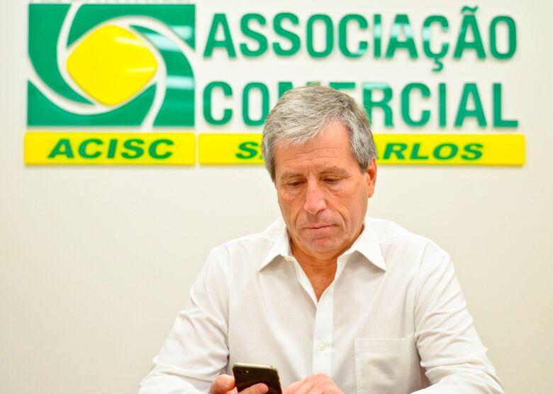 José Fernando Domingues, presidente da Acisc - Crédito: Divulgação