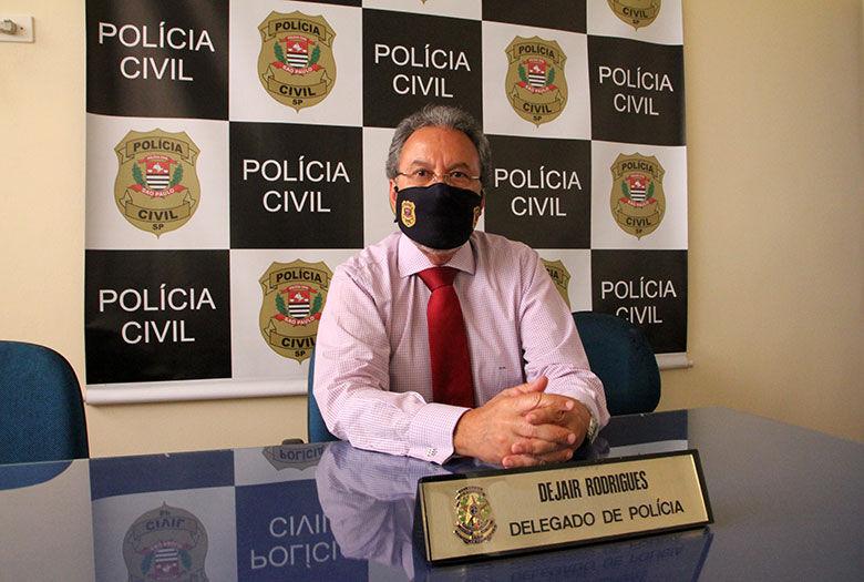Dejair Rodrigues: 45 anos dedicados à Polícia Civil - Crédito: São Carlos Agora