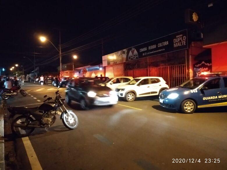 Força-Tarefa interdita loja de conveniência no Centro - Crédito: Divulgação