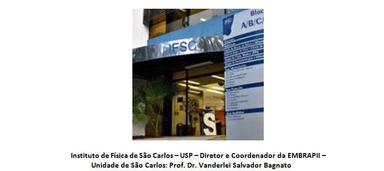 Unidade EMBRAPII do IFSC - USP fará lançamento de entrega de seus projetos às empresas parceiras em eventos ao vivo pelas redes sociais