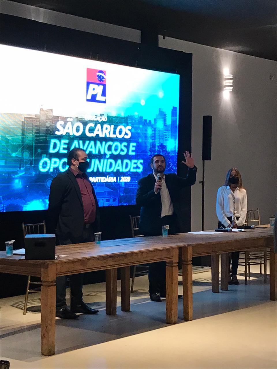PL confirma Julio Cesar como candidato a prefeito
