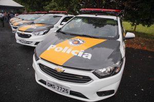 Eixo SP entrega 36 viaturas para a Polícia Militar Rodoviária nesta terça-feira (4)