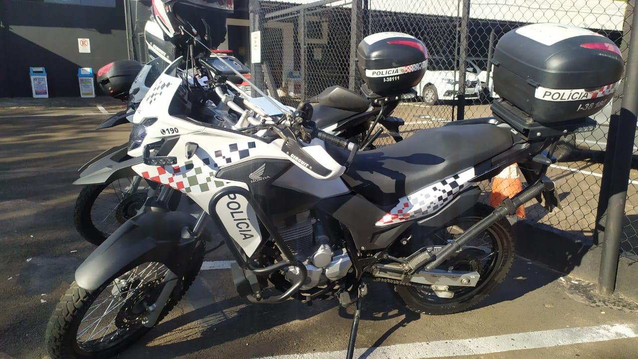 moto rpm polícia