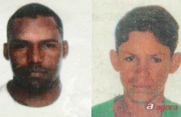 José da Conceição Santos, de 33 anos, e Ricardo de Almeida da Luz, de 19 foram presos em flagrante