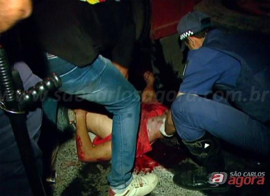 Bruno Cristiano de Oliveira foi atropelado por um caminhão de bebidas