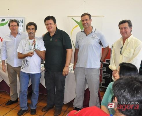 Toninho, piloto oficial do balão da Confederação Brasileira de Balonismo (CBB)
