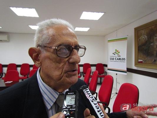 Afrânio Roberto Zambel, filho do ex-prefeito Leôncio Zambel. (Foto: Tiago da Mata / SCA)