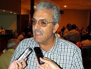 Vice-prefeito Cláudio Di Salvo. (Foto: Tiago da Mata / SCA).