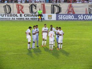 São Paulo goleia o Guaicurus por 5 a 2. (Foto: Tiago da Mata / SCA)