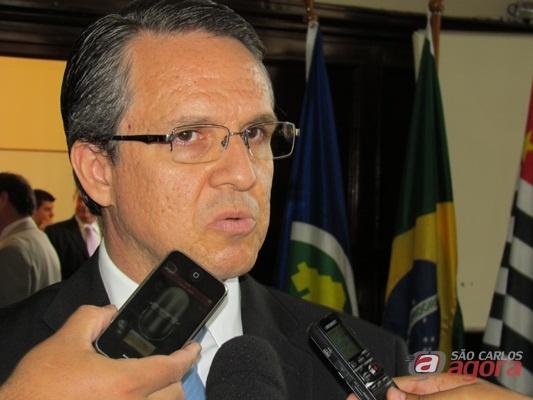 Juiz André Luiz de Macedo, diretor do Fórum Criminal de São Carlos. (Foto: Tiago da Mata / SCA).