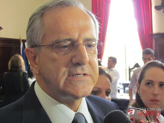 Prefeito Paulo Altomani (PSDB) - (Foto: Tiago da Mata / SCA)