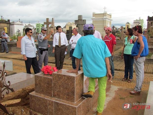 Pedreiro denunciou o caso e deu o nome dos envolvidos. (Foto: Tiago da Mata / SCA)