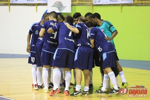 Futsal masculino de São Carlos vence por 7 a 1 Barra Bonita. (Foto: Tiago da Mata / SCA)