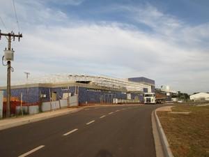 Obras do novo terminal estão em fase de acabamento. (foto http://aeroportodeararaquara-sbaq.blogspot.com.br/)