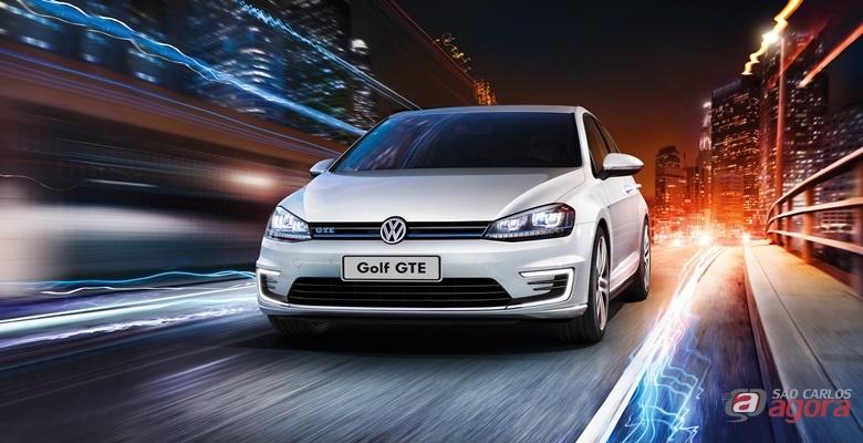 Golf GTE: novo híbrido plug-in reúne sustentabilidade e desempenho. Esportivo é um veículo com emissão zero capaz de rodar grandes distâncias
