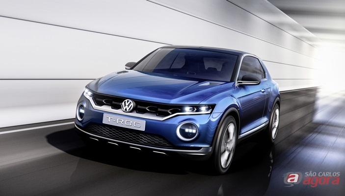 T-ROC: carro-conceito oferece uma visão de uma possível nova linha de SUVs