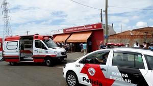 Padaria onde o comerciante foi assassinado. (foto Milton Rogério)