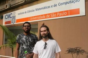 David e Gustavo aprovaram a Virada Científica. Foto: Divulgação