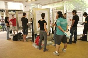 56 projetos foram apresentados na mostra. Foto: Henrique Fontes