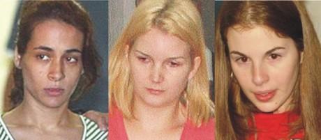 Ana Jatobá , Elize Matsunaga, e Suzane Richthofen estão presas em Tremembé.